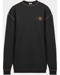 Missoni Small Logo Sweatshirt - Black