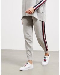 Tommy Hilfiger Icon Tara Track Trousers Grey - Gray