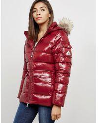 Pyrenex Authentic Padded Shiny Jacket Red
