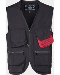 BBCICECREAM Utility Vest - Black