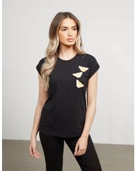 Emporio Armani Multi Eagle Short Sleeve T-shirt Black