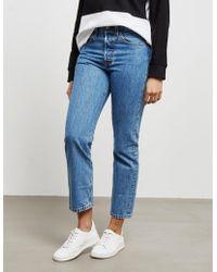 Levi's Levis 501 Cropped Jeans Blue