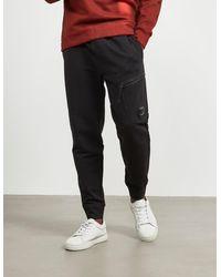 C P Company Lens Fleece Pants Black
