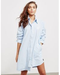 Vivienne Westwood - Womens Anglomania Chaos Long Sleeve Shirt Blue - Lyst