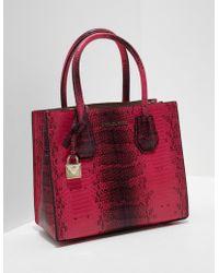 Michael Kors - Womens Mercer Messenger Bag - Online Exclusive Pink - Lyst