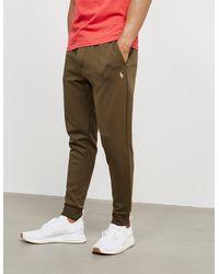 Polo Ralph Lauren Fleece Cuffed Track Pants Gre - Natural