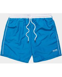 BOSS Starfish Swim Shorts Blue