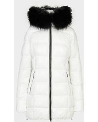 FROCCELLA Fur Gloss Jacket - White