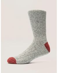 Barbour - Mens Houghton Socks Grey - Lyst