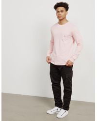 Penfield - Mens Friars Long Sleeve T-shirt Pink - Lyst