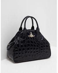 Vivienne Westwood - Womens Yasmin Medium Dome Bag Black - Lyst