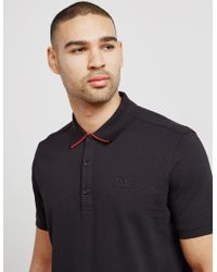 HUGO - Mens Dyler Short Sleeve Polo Shirt Black - Lyst