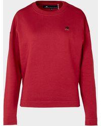 Moose Knuckles Hayden Hardwear Sweatshirt - Red