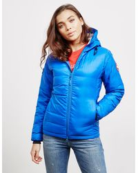 Canada Goose Pbi Camp Hooded Padded Jacket - Online Exclusive Blue