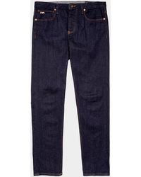 Emporio Armani J75 Regular Slim Jeans Blue