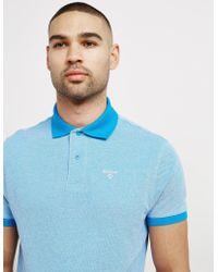 Barbour - Mens Birds Short Sleeve Polo Shirt Blue - Lyst