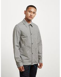 PS by Paul Smith Gingham Coach Jacket - Online Exclusive Black