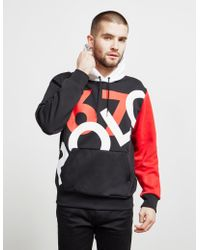 Polo Ralph Lauren - P-wing Color-block Logo Graphic Hooded Sweatshirt - Lyst