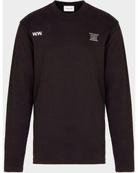 WOOD WOOD Anakin Long Sleeve T-shirt - Black