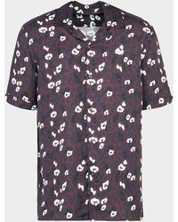 Fred Perry - Animal Revere Collar Shirt - Lyst