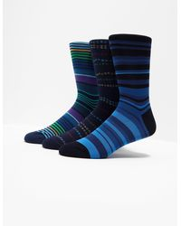 PS by Paul Smith - 3 Pack Socks Blue - Lyst