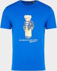 Polo Ralph Lauren Preppy Bear T-shirt - Blue