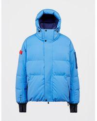 3 MONCLER GRENOBLE Taku Parka Jacket Blue