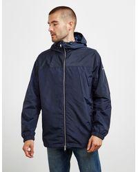 Armani Exchange Paisley Lightweight Jacket Navy Blue