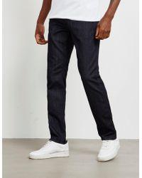 Emporio Armani J06 Slim Mono Jeans Blue