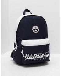 Napapijri - Mens Happy Day Backpack Navy/white - Lyst