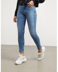 Calvin Klein 010 High Rise Skinny Jeans - Blue