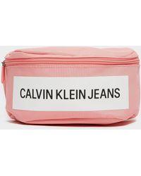 Calvin Klein Block Bum Bag - Pink