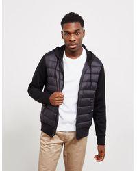 Polo Ralph Lauren Hybrid Zip Through Hoodie Black