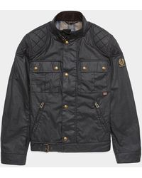Belstaff Brookestone Wax Jacket - Black