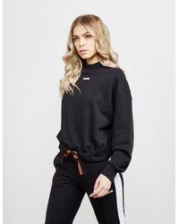 MSGM Bow Sweatshirt Black