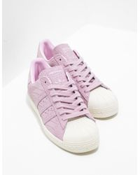 adidas Originals - Womens Superstar Croc Pink - Lyst