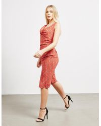 Vivienne Westwood - Anglomania Print Dress Red - Lyst