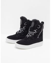 DKNY - Womens Montreal Boots Black - Lyst