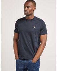 PS by Paul Smith - Mens Zebra Logo Short Sleeve T-shirt Navy Blue - Lyst
