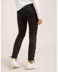 Belstaff - Womens Slim Fit Jeans Black - Lyst