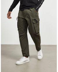 Calvin Klein Zip Pocket Cargo Trousers Olive - Green