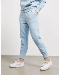 Polo Ralph Lauren Ankle Track Pants Blue