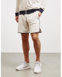 BOSS Mix Fleece Shorts Grey - Gray