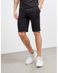 Emporio Armani Basic Fleece Shorts Black