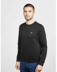 Emporio Armani - Foil Eagle Sweatshirt Black - Lyst