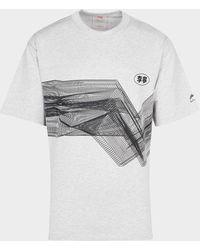 Li-ning Digital Wave T-shirt - Gray