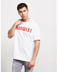 9042e63302d Lyst - Gucci Men s Box Letter-logo T-shirt in Pink for Men