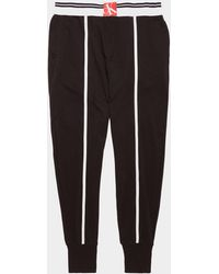 Calvin Klein Stripe Joggers Black