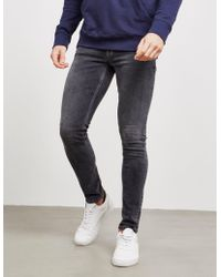 Nudie Jeans Skinny Lin Jeans Gray