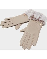 Barbour Leather Gloves - Pink